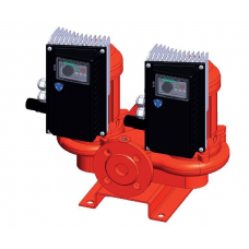 KOLMEKS PN10 in-line Twin Pumps